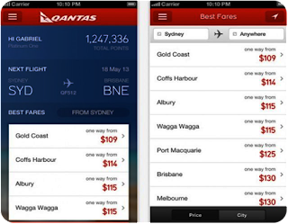 Qantas iphone