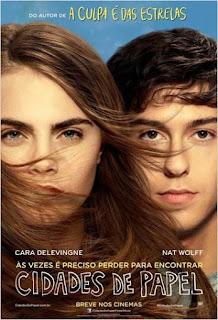 """Poster do filme """"Cidades de Papel"""""""