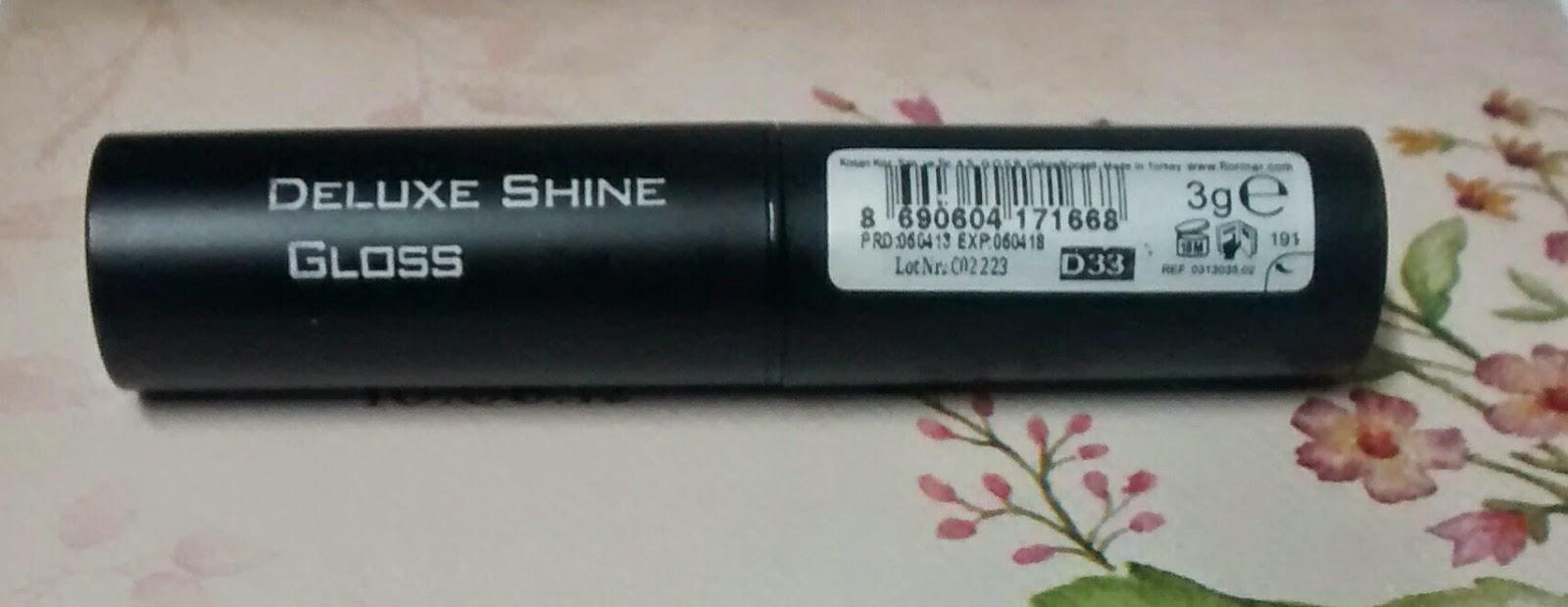 Flormar Deluxe Stylo Lipstick #D33