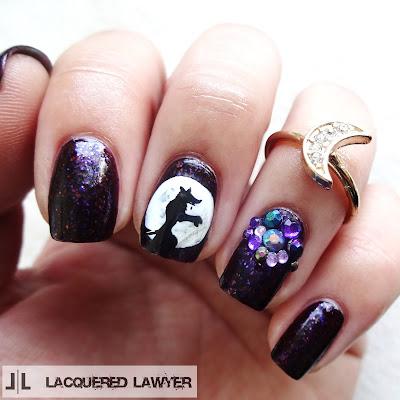 Werewolf Nail Art