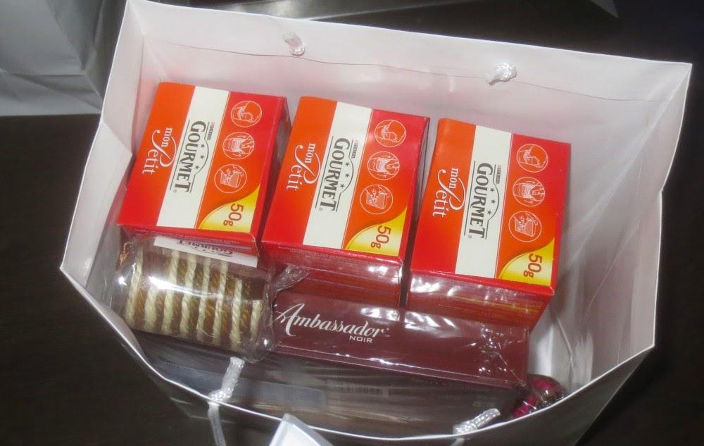 GOURMET-Kochevent Köln: Goodie bag für Katze und Besitzer