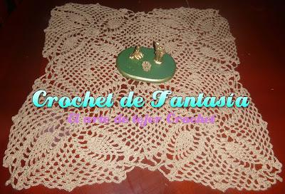 Crochet, ganchillo, centro. Mesa, piñas, beige, carpeta,cubrecama