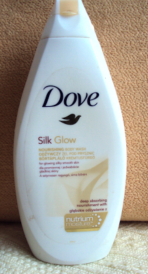 Dove, Silk Glow, Nourishing Shower Gel (Odżywczy żel pod prysznic)