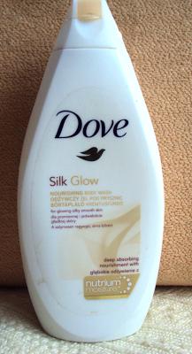 Dove, Silk Glow, Nourishing Shower Gel (Odżywczy żel pod prysznic)
