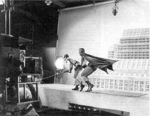 64 Historical Pictures you most likely haven't seen before. # 8 is a bit disturbing! - 17. The making of Batman 1966
