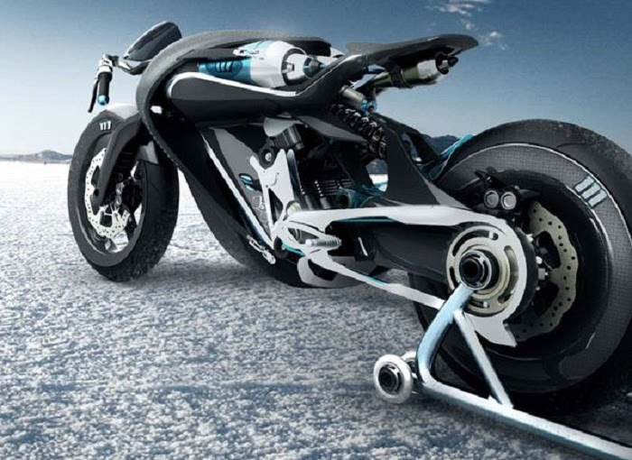 Saline Bird concept bike - motorcycle