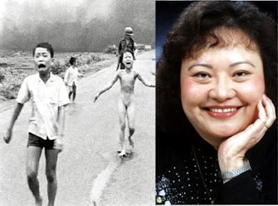 A foto da menina queimada por bomba na guerra do Vietinã