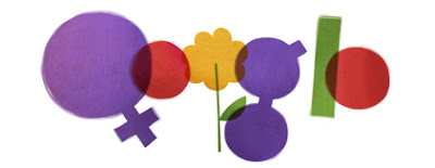 Google Doodle International Women's Day - 8th March 2012
