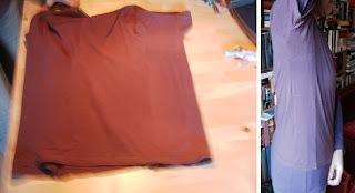 Upsize Tshirt Refashion