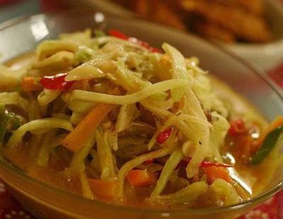 Resep masakan sayur lodeh labu siam