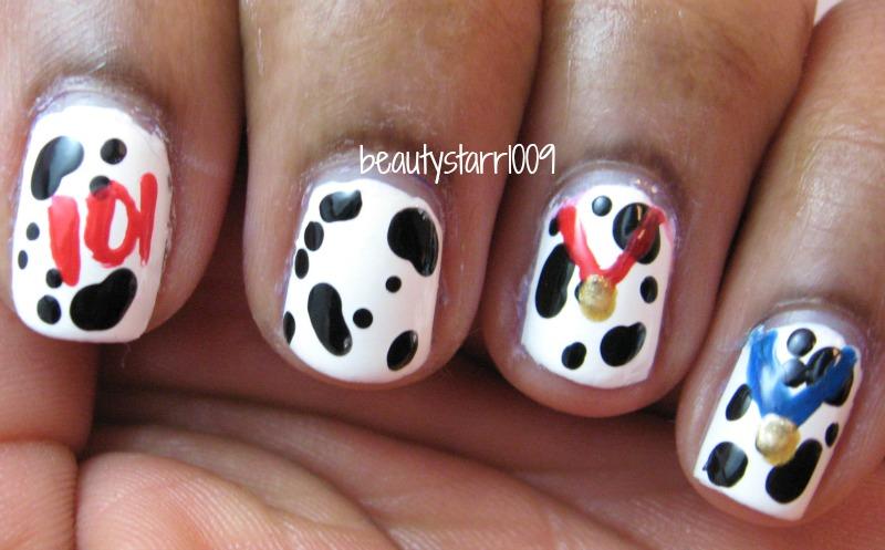 I\'m just me...ChiChi: Disney Nail Art Challenge - 101 Dalmatians