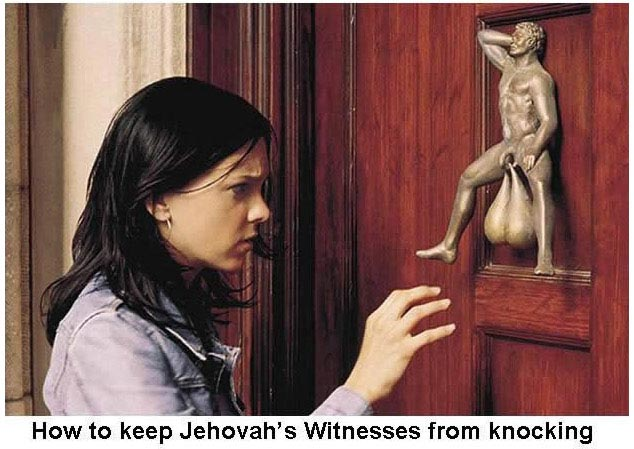 The Vail Spot: How To Keep Jehovah&#39;s Witness&#39; From Knocking