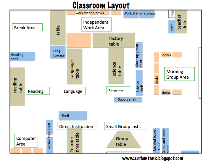Classroom Design For Disabled Students : Autism tank september