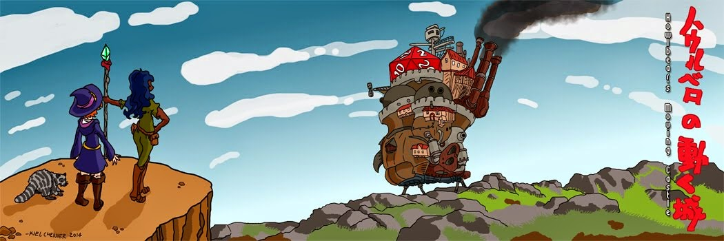 Howlbear's Moving Castle