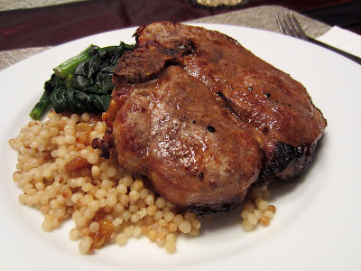 Truffled Char Siu Pork Chops