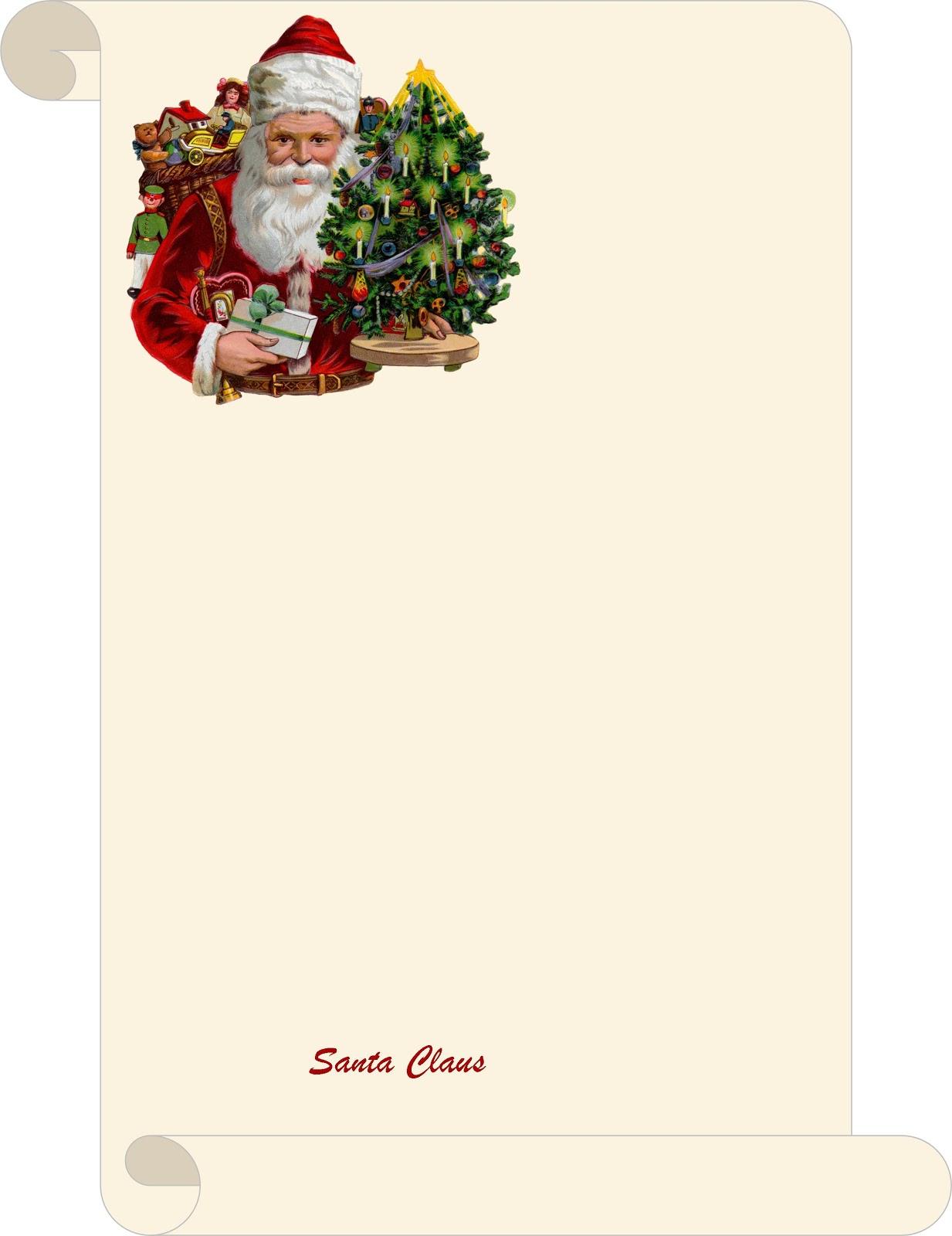 life in random bits letter from santa diy