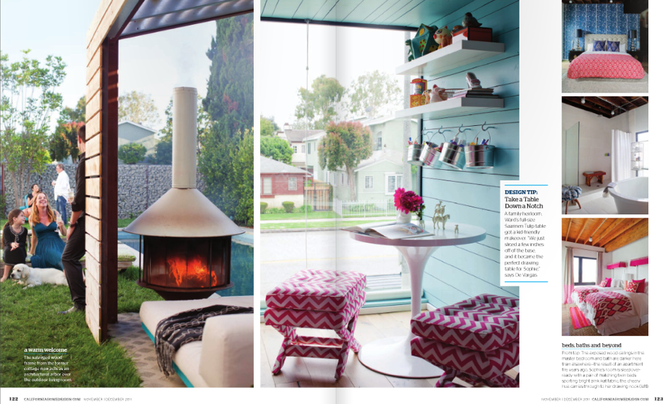Ca home design magazine vanessa de vargas featured for California home and design magazine