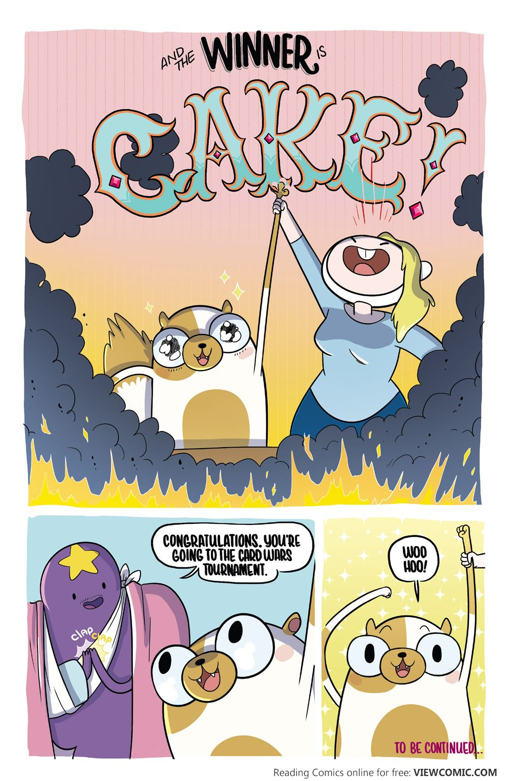 Fionna And Cake Card Wars Comic Online