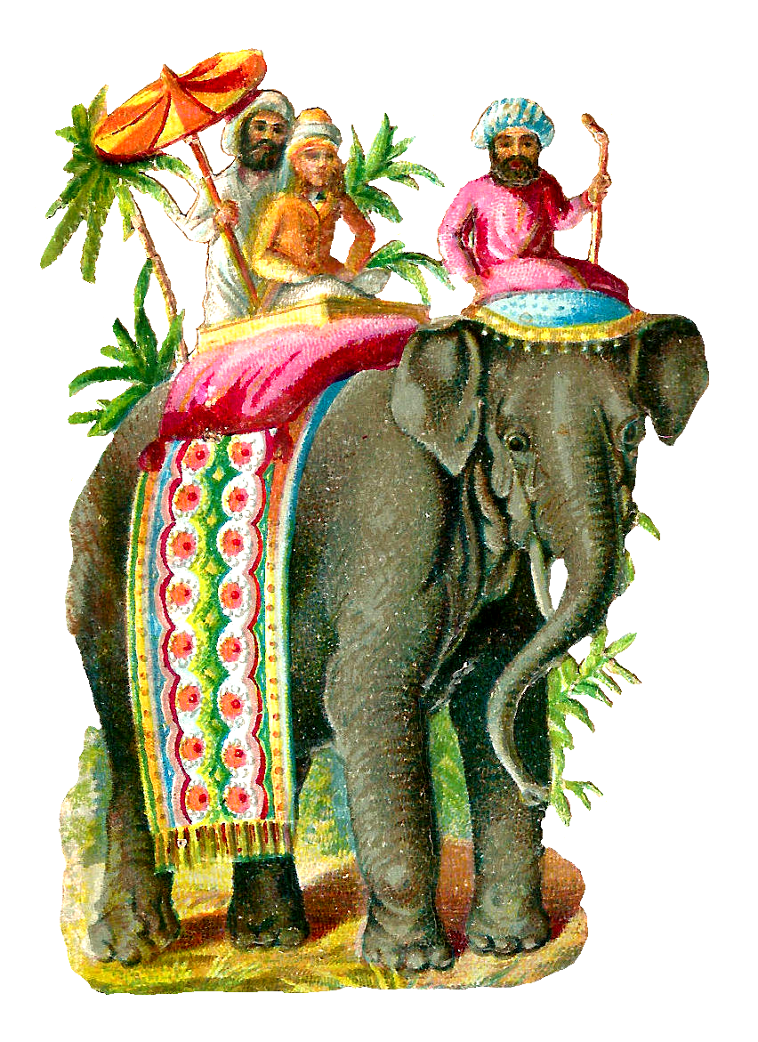 vintage elephant clip art - photo #24