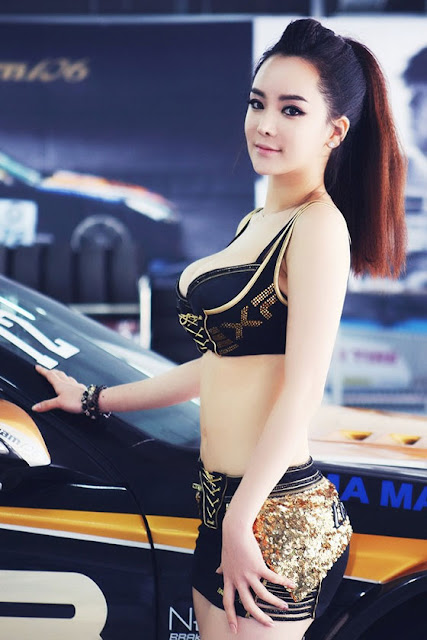 Im Ji Hye at CJ Super Race 2013