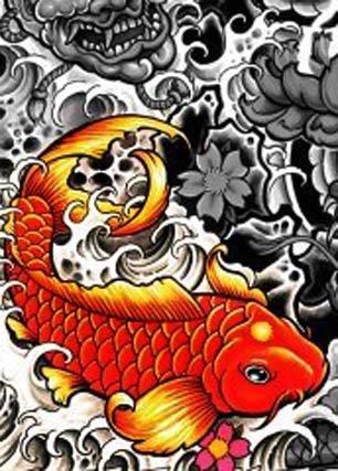 Fronteira Metrópole Desenhos Para Tattoo Serie Carpa