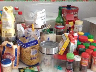 vacaciones, cocina, limpieza, niños, verano
