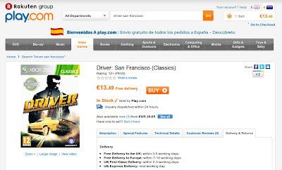 Driver San Francisco barato en play.com