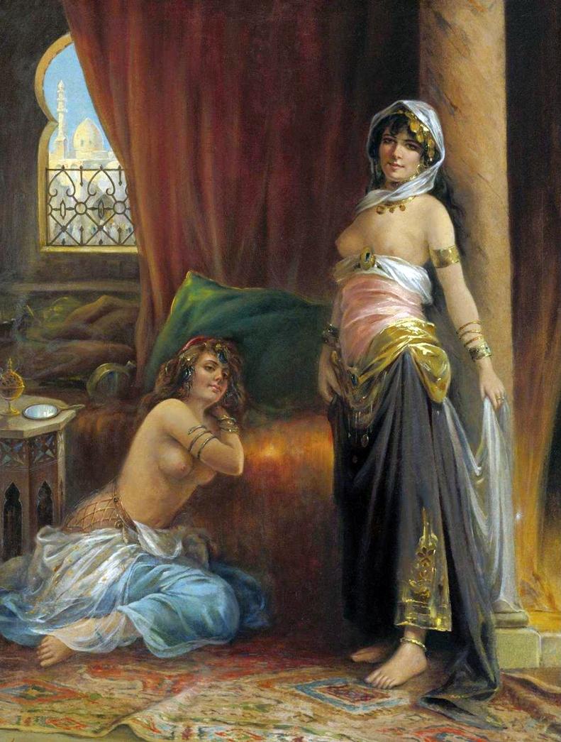 Adrien Henri Tanoux 1865-1923 - French Orientalist painter