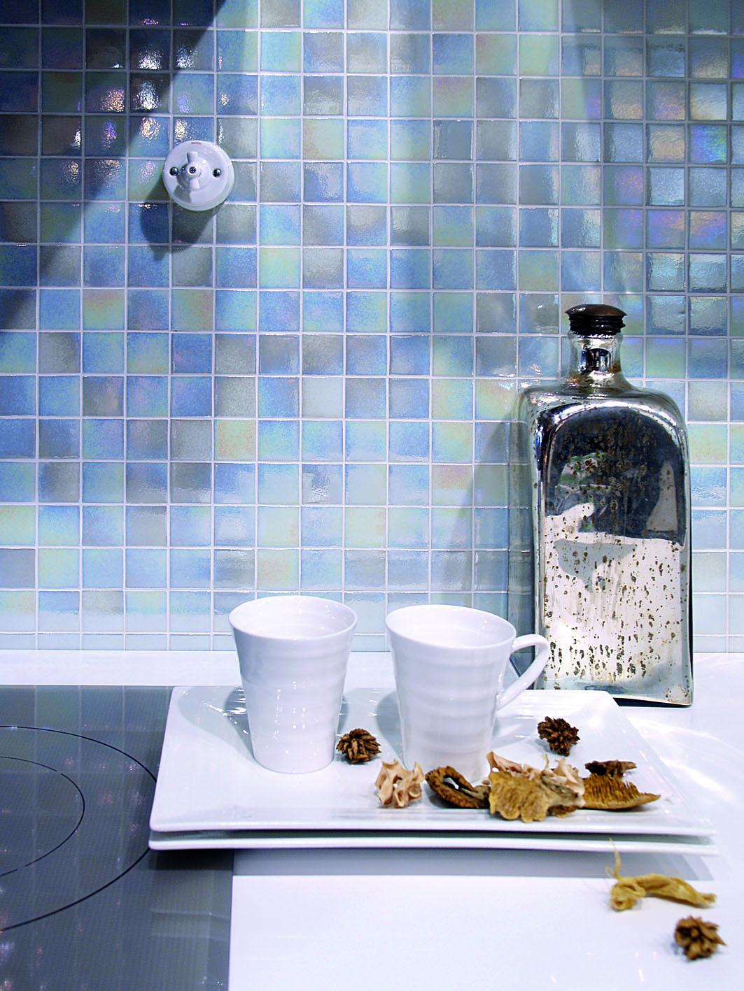 Decorar interiores hisbalit mosaico para una cocina de - Cocinas con mosaico ...