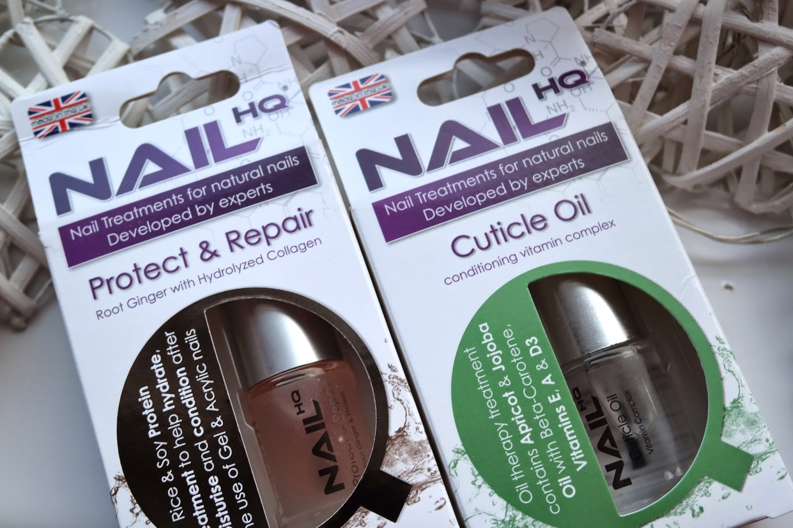 Nail HQ Protect & Repair and Cuticle Oil Review - Jenna Suth