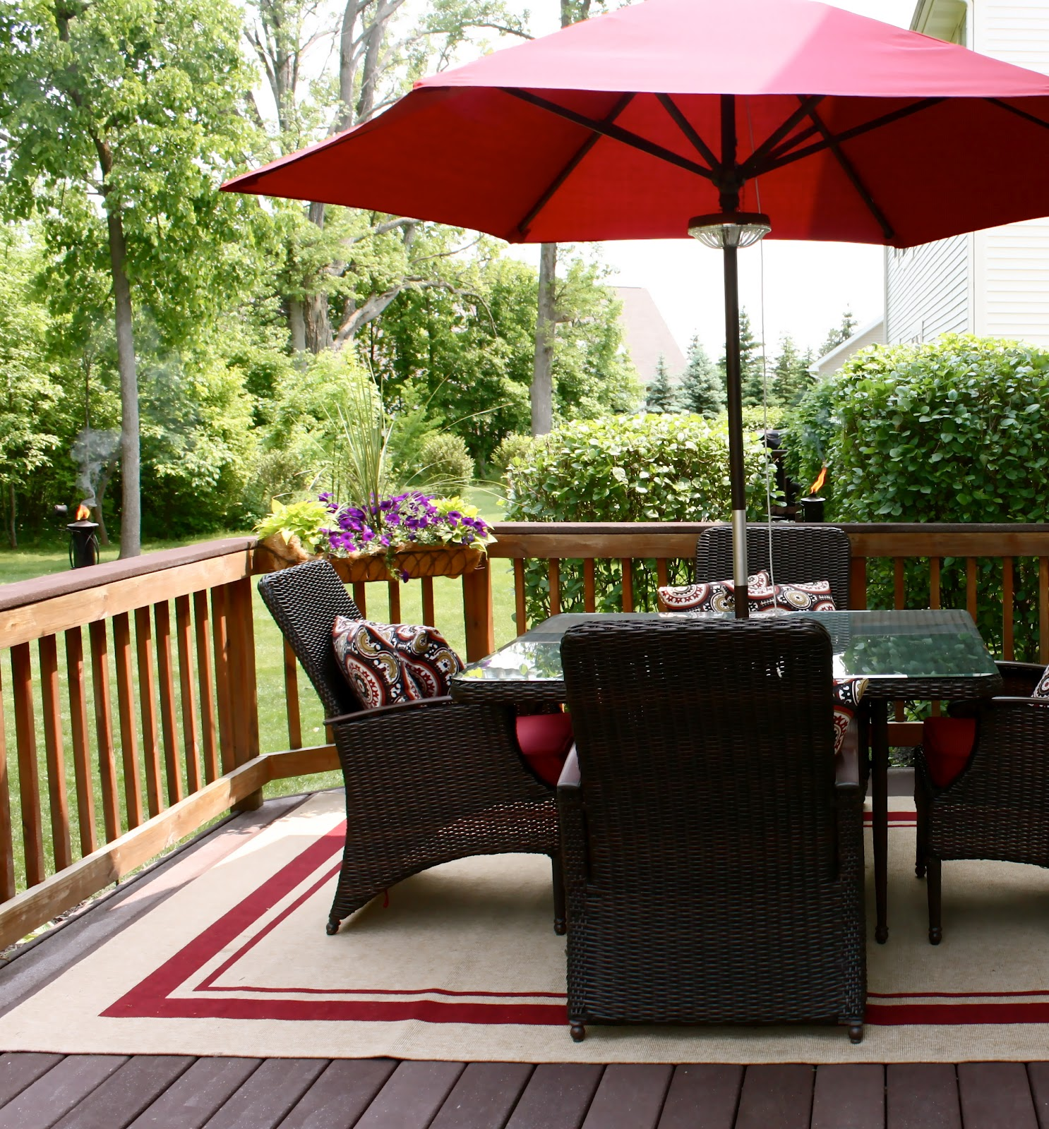 Cool Our Budget Friendly Outdoor Dining Room