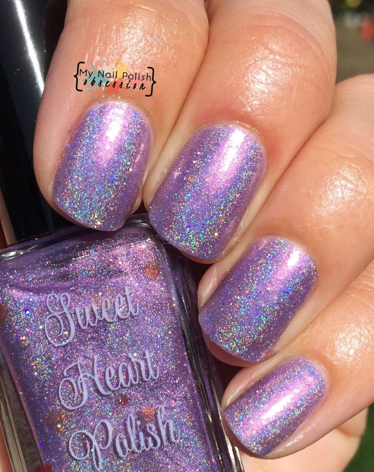 Sweet Heart Polish Candied Violets
