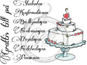grattis på födelsedagen card