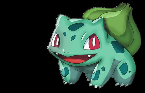 Gera o pokebola bulbasaur for Immagini bulbasaur