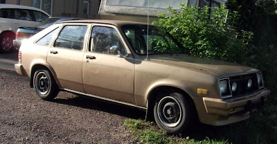 1986, Pontiac Acadian, brown, parked car