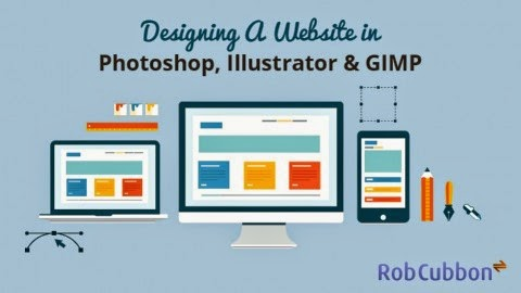 Designing A Website In Photoshop Illustrator Gimp The