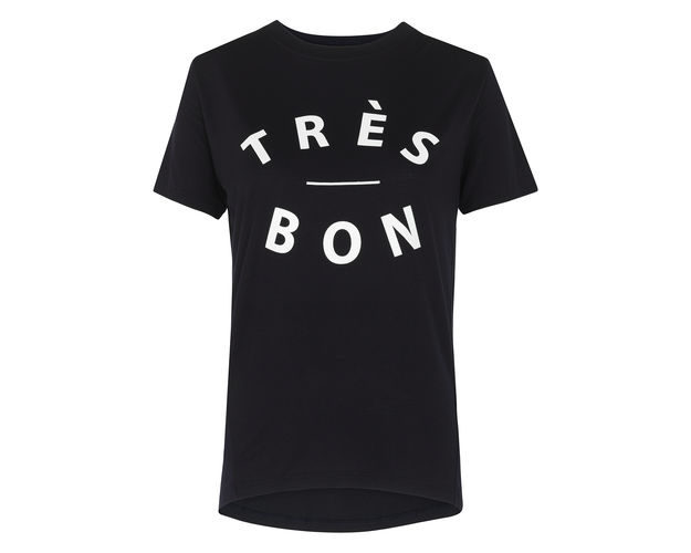 très bon top, whistles black logo top, whistles tres bon t-shirt,