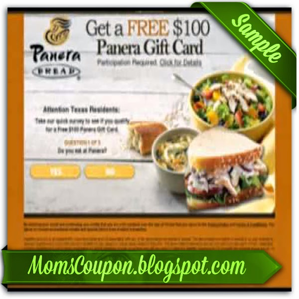 Panera bread coupon code 2018