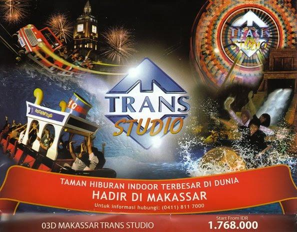 trans studio makassar indonesia