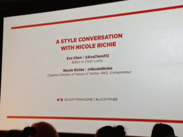 Lucky Fabb West 2014 Nicole Richie