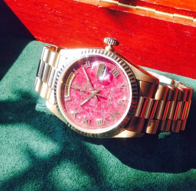 Rolex DD Ref 18238 Solalite dial, I'm Loving it