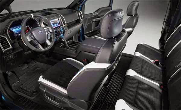 2017 Ford F-150 Raptor Engine Twin Turbo