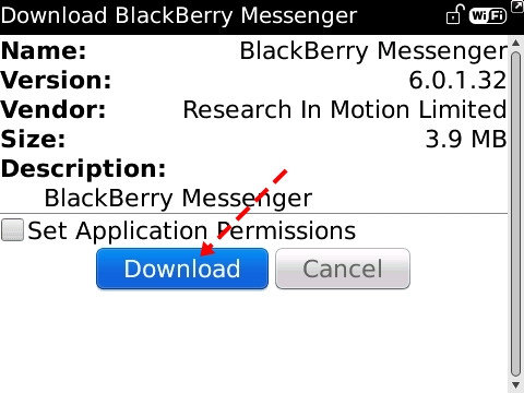 Cara mendownload bbm versi 6