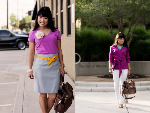 Spice up workplace outfits with color [Guest Post]