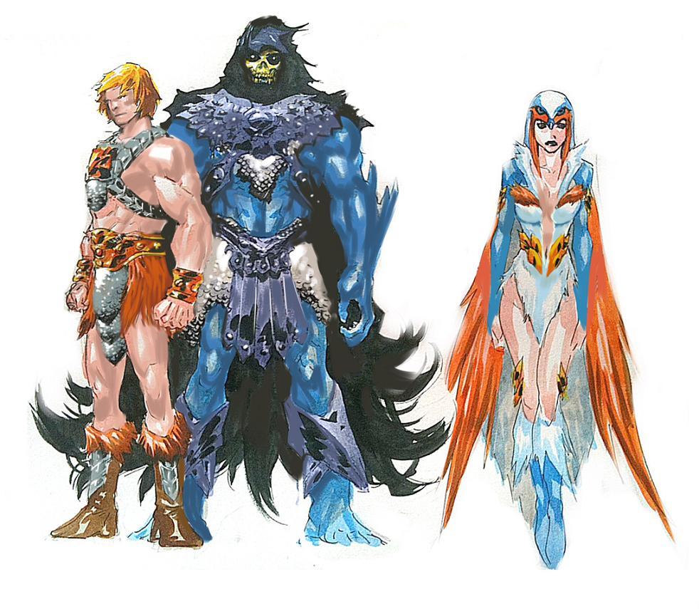 Character Design Masterclass Book One : Visiones dibujos de philip tan para el nuevo cómic
