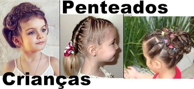 Penteados em crianças que não soltam da cabeça!
