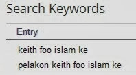 Keith Foo Islam ke ?