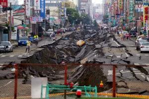 Explosões de gás em Taiwan deixa pelo menos 20 mortos