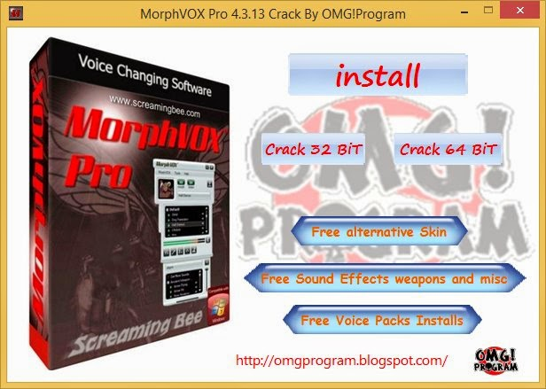 screaming bee morphvox pro 4.4.70