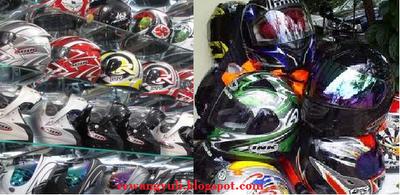 memilih helm sepeda motor harus sni